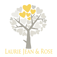 Laurie Jean & Rose logo